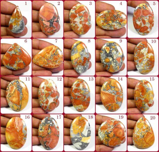 58 x 42 x 8 mm Fossil Ammonite Simbircite Yellow Calcite Natural Stone Handcrafted Designer Cabochon