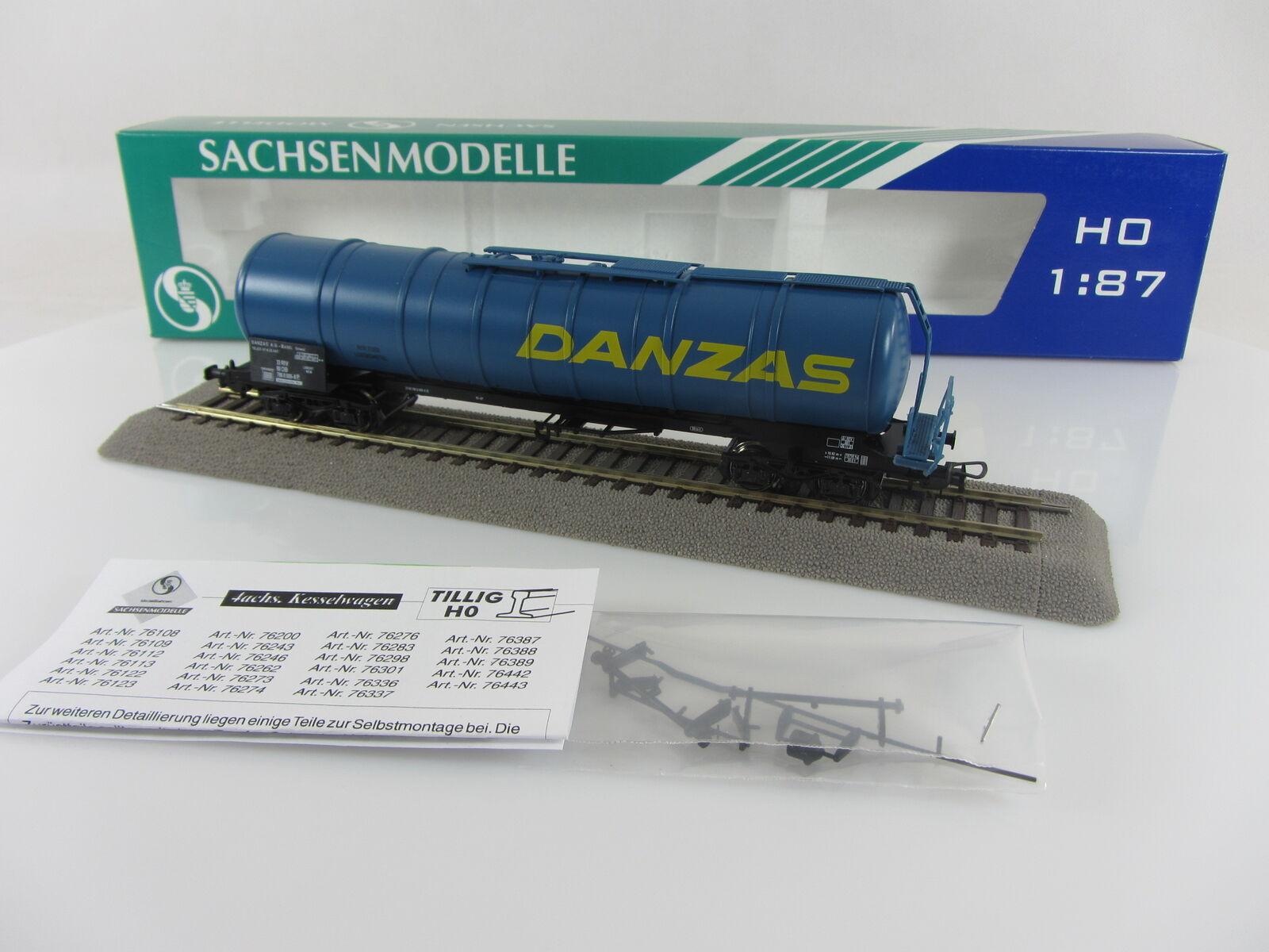 Sachsenmodelle 76442 Kesselwagen DANZAS der DB, sehr guter guter guter Zustand mit OVP    Ausgezeichnete Leistung  63b689