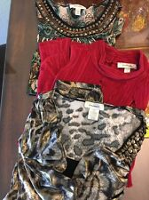 Lot Of 3 Brand New Dress Barn Blouse/ Tops Size PLUS SIZE 1X