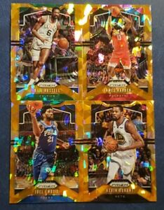 2019-20-Prizm-Basketball-Orange-Ice-Cracked-Parallel-Refractors-Pick-Your-Card