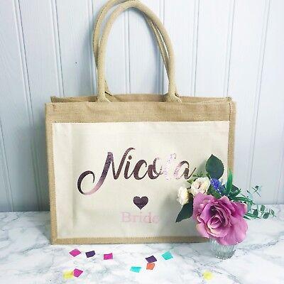 Bride Wifey Honeymoon Gift Beach Bag