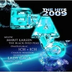 BRAVO-THE-HITS-2009-2-CD-LADY-GAGA-GOSSIP-A-HA-UVM-NEU