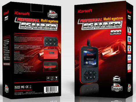 Diagnostic Scan Fault Code Reader Mercedes Benz Sprinter Smart Car I980 icarsoft