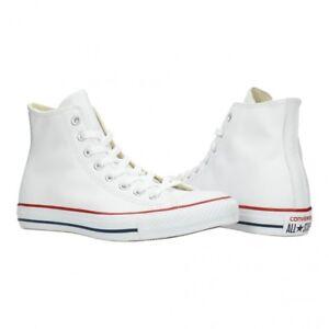 Converse Chucks Leder White weiß Ct As Classic Lea 132169c Größe EUR 43