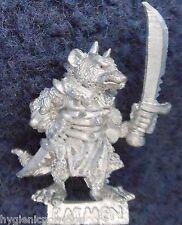 1985 Skaven C47 Carver caos ratmen Citadel Warhammer ejército clanrat stormvermin