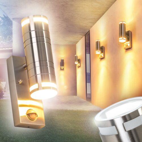 Wandleuchte Bewegungsmelder Aussen Veranda Wand Leuchten Edelstahl Garten Lampe