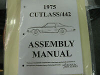 1975 Cutlass, 442 (all Models) Assembly Manual