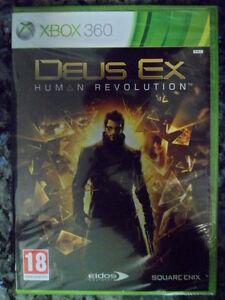 DEUS-EX-HUMAN-REVOLUTION-Xbox-360-Nuevo-precintado-aventura-rol-en-castellano