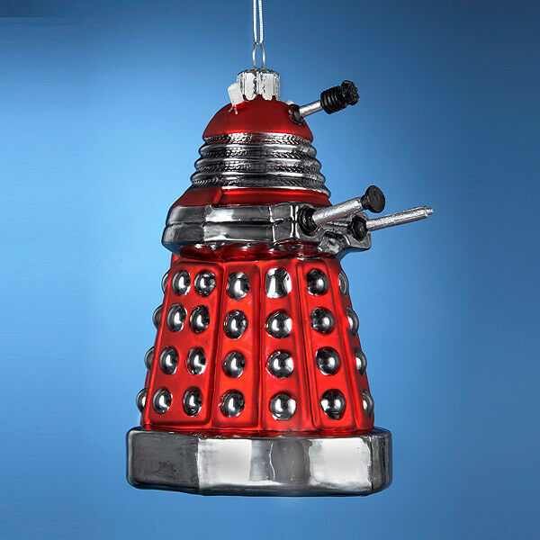 Doctor Who Dalek 5-inch Figural Christmas Tree Ornament ...