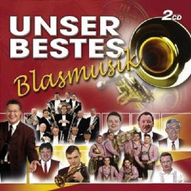 UNSER BESTES- BLASMUSIK 2 CD MIT BLECHSCHADEN UVM NEU
