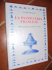 LIBRO BOOK  LA PASTICCERIA FRANCESE STORIE PERSONAGGI INGREDIENTI SENDER DERRIEN