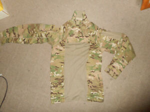 Multicam-Army-Combat-Shirt-Type-II-ACS-SMALL-Flame-Resistant-1-4-Zippered