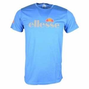 Ellesse-Sammeti-Blue-Marl-Polyester-T-Shirt