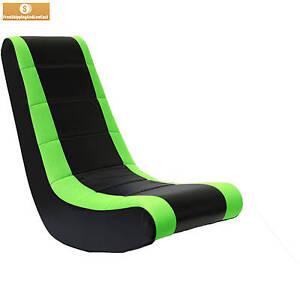 Neon Green Video Game Rocker Gaming Chair Seat Rocking Lounge