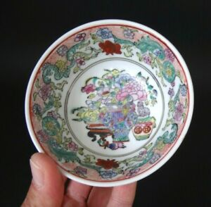 Bol-chinois-peint-marque-chinese-porcelaine-painted-bowl-marked-XX