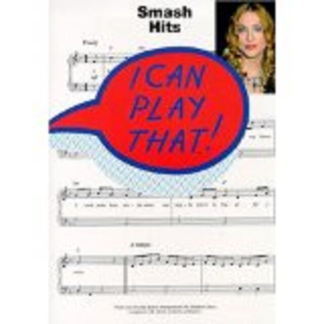 I Can Play That! Smash Hits Easy Piano Chords Lyrics Music Songbook 90s Pop S19