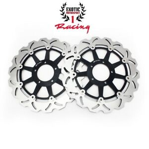 New-Ducati-Front-Brake-Rotors-Set-Monster-796-797-821-1100-1200-EVO-Diesel-ABS