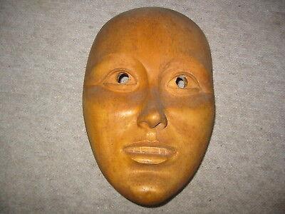 Angemessen Schöne Alte Faschingsmaske A.holz Fastnacht Maske Carnival Mask Fasnet Unbemalt