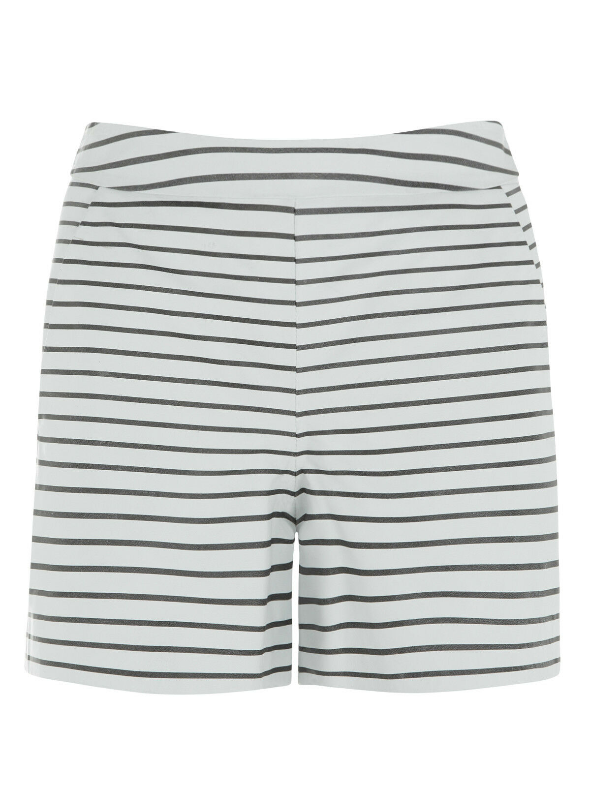 Muubaa Bethel STRIPE leather mini shorts. RRP . varie dimensioni.