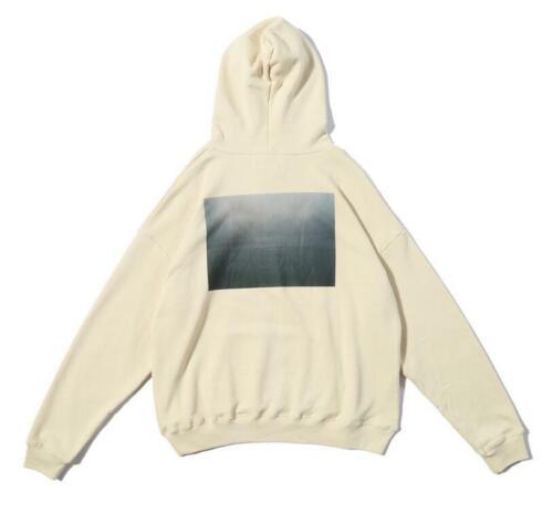 FEAR OF GOD FOG ESSENTIALS Justinbieber Beach photo hoodie