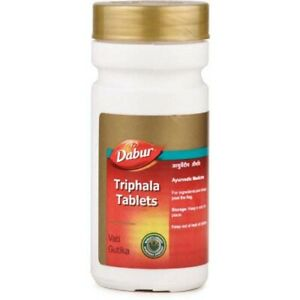 Pack-of-2-Ayurveda-Dabur-Triphala-60-Tablets-Free-Shipping