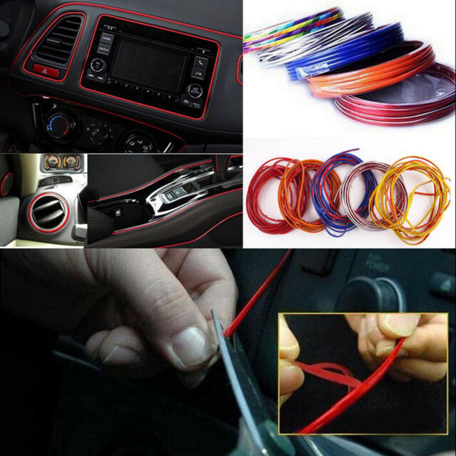 5m Point Edge Gap Line Car Interior Accessories Molding Garnish