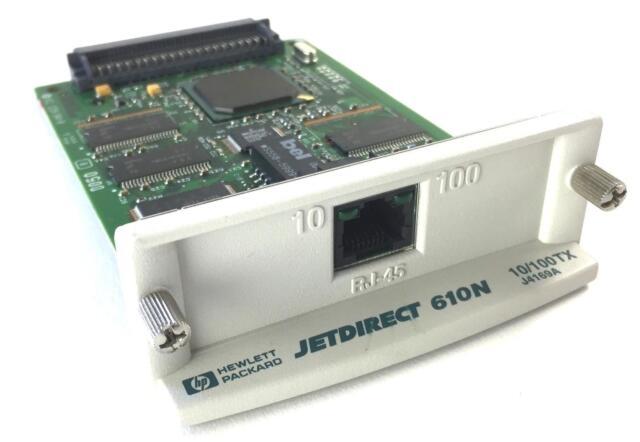 HP JetDirect card J4135A Print server 10//100 RJ-45 Ethernet Adapter//Network Card