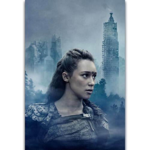 N366 Hot The 100 Hot TV Series Show Commander Lexa Season Poster Silk Art Decor