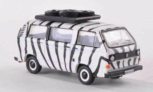 BUB 09253 VW T3 BUS SAFARI LIMITED EDITION DIECAST METAL ECHELLE 1:87 HO NEW OVP