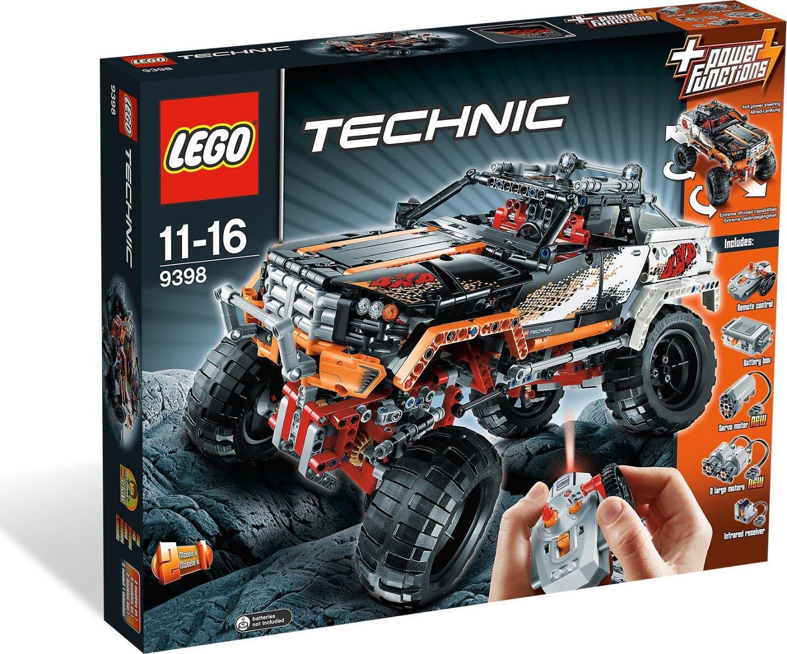 Lego Technic 9398 - Pickup 4X4 Nuevo Raro - Box Damage Caja Dañada