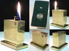 Briquet Ancien Marque non apparente Automatic Desk Lighter Feuerzeug Accendino