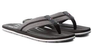 vendite all'ingrosso qualità sono diversamente TOMMY HILFIGER scarpe infradito uomo pelle tessuto sandali ...