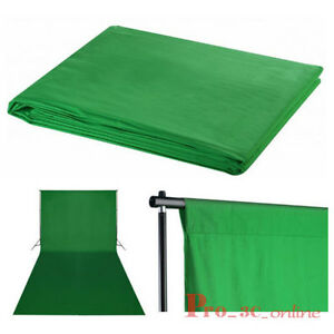 Pro Photo Studio 3x6m Chromakey Green screen Cotton Muslin Backdrop Rod Pocket - <span itemprop=availableAtOrFrom>Portsmouth, United Kingdom</span> - Returns accepted Most purchases from business sellers are protected by the Consumer Contract Regulations 2013 which give you the right to cancel the purchase within 14 days after the d - Portsmouth, United Kingdom