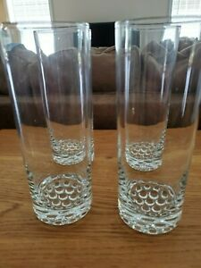 Libbey-Nob-Hill-Tall-Iced-Tea-Highball-Glasses-Set-of-4-EUC