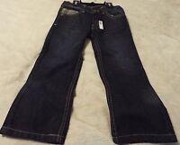 Beverly Hills Polo Club Boy's Size 5 Jeans Dark Blue Wash Black Msrp =$38nice