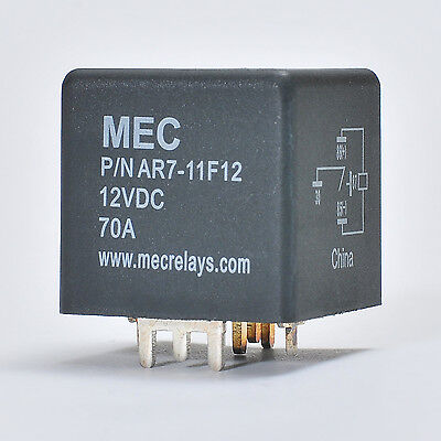 Siemens VF7-11F12 12VDC 70A SPDT Non-Latching Automotive Relay
