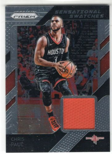 2018-19 Panini Prizm Basketball Sensational Swatches *You Pick From Huge List*