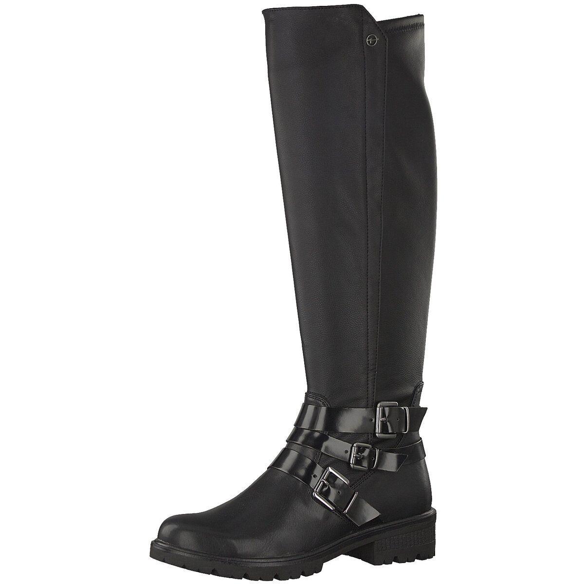 Tamaris Damen Stiefel 1243 1-1-25606-21 001 schwarz 522126