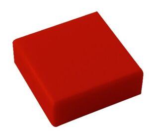 Lego-100x-rote-Fliese-1x1-3070b-Neu-Kacheln-Fliesen-in-rot-red-tile-tiles-New
