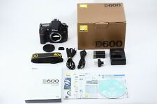 C013-891***Near  Mint++***Nikon D600  in Box Shutter Count 5819 Shot! from Japan