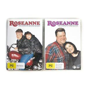 Roseanne-The-Complete-Second-amp-Third-Season-2-amp-3-R4-DVD-2006-3-Disc-Set-VGC