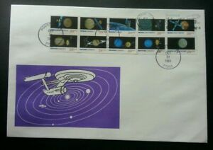 [SJ] USA Space Solar System 1991 Satellite Astronomy Earth (FDC)