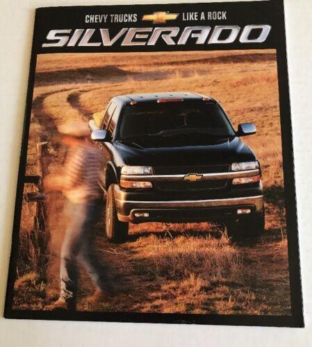 2002 Chevrolet Chevy Silverado Brochure