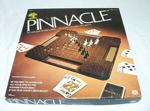 RARE VINTAGE PINNACLE BOARD / CARD GAME - MEGO 1979 - COMPLETE MIND-FLEX