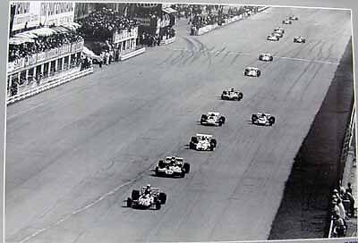 Grand Prix Italia 1971 Monza //car poster