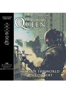 Details About Queen News Of The World In Concert Limited Edition Green Brand New Vinyl Lp