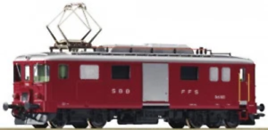 Roco-72656-HO-Gauge-SBB-De4-4-Electric-Baggage-Railcar-V