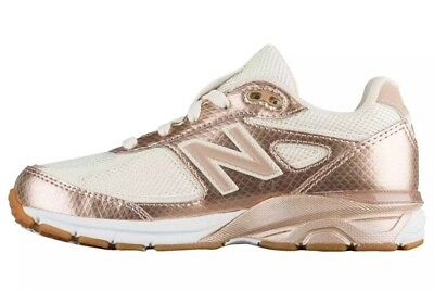 new photos d1cec 19a14 New Balance 990v4 Girl's Size 7Y Shoes Gold/Off White KJ9902KG Free S/H!  Rare 191264644922 | eBay