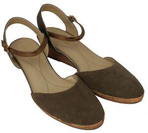 7 Nido Van 3 El Shoe Suede Wedge 5 Ladies Sling 6 Dal 5 Metal 5 back 5 WwnIqWaH0