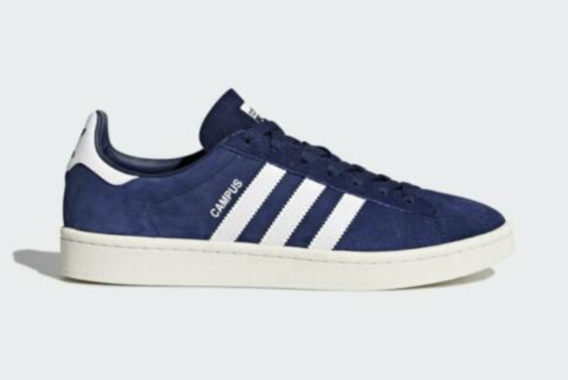 Men's Brand New Adidas Campus Athletic Fashion Everyday Sneakers BZ0086 -Sz 8.5-